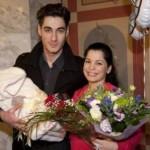 Юля и Тигран с малышом